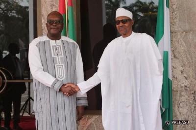 Burkina Faso : Fermeture des frontières nigérianes, le président Kaboré échange avec Muhammadu Buhari