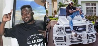 Ghana : Nouvelle surprise d'Adebayor à Funny Face, une voiture au choix