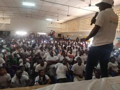 Côte d'Ivoire : Depuis Bouaké, le mouvement «zéro victime » aux jeunes «Tournez dos à tous les leaders politiques qui vont vous pousser à l'affrontement»