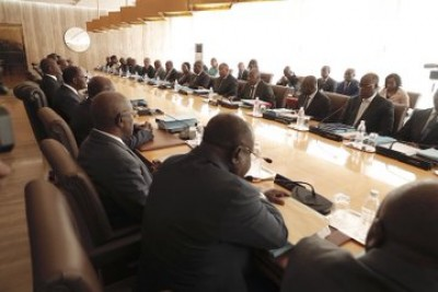 Côte d'Ivoire : Communiqué du conseil des ministres du mercredi 19 Février 2020