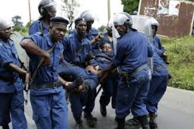Burundi : 13 corps de bandits armés retrouvés après des combats avec la police
