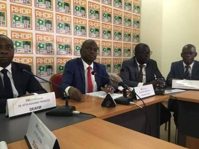 Côte d'Ivoire : Les enseignants du RHDP annoncent des répliques à toute attaque à l'endroit du Gouvernement et du RHDP