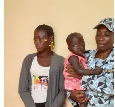 Côte d'Ivoire : Elle enlève un enfant de deux ans à Anyama et se fait  épingler  à Ma...