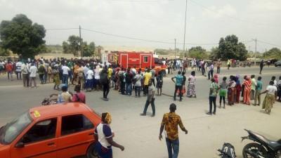 Côte d'Ivoire : Drame, à Bouaké, un chauffard provoque la mort de deux écoliers, un 3...