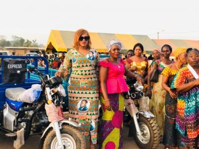 Côte d'Ivoire : Transhumance politique, au cours d'une cérémonie dans la Marahoué, l'...