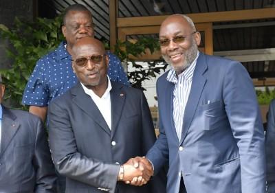 Côte d'Ivoire : En fin de mandat, Sidy Diallo se réconcilie avec Jacques Anouma