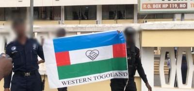 Ghana :  Togoland, un drapeau indépendantiste momentané hissé à Ho