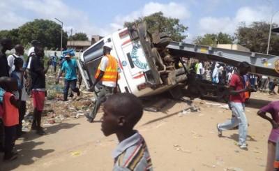 Sénégal : Sept morts dans un accident de la route à Fatick