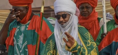 Nigeria :  L'émir Sanusi II de Kano détrôné