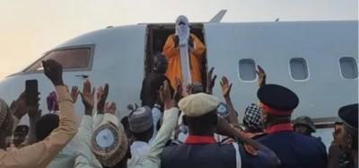 Nigeria :  Sanusi II envoyé en exil à Nasarawa, première réaction, son successeur annoncé