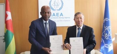 Togo : Accord avec l'AIEA pour la technologie nucléaire