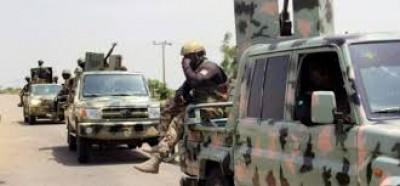 Nigeria : Six soldats périssent dans une embuscade terroriste près de la frontière avec le Cameroun