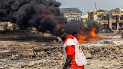 Nigeria : Explosion à Lagos, le gouvernement débloque 3 milliards de FCFA pour les victimes