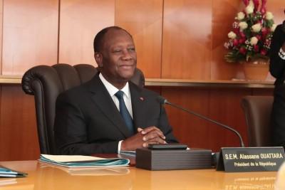 Côte d'Ivoire :  Communiqué de la Présidence de la République relatif à la promulgation de la Constitution et au Code électoral