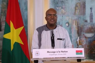 Burkina Faso : Un couvre-feu assorti de la fermeture des frontières pour barrer la route au coronavirus