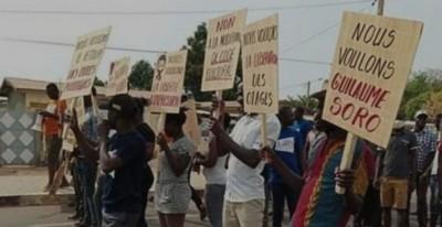 Côte d'Ivoire : Réclamant le retour de Guillaume Soro et la gratuité des CNI, des habitants de Ferké dans la rue