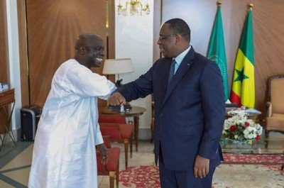 Sénégal : Coronavirus, Macky Sall reçoit les leaders de l'opposition, Idrissa Seck, Ousmane Sonko, Khalifa Sall… au palais