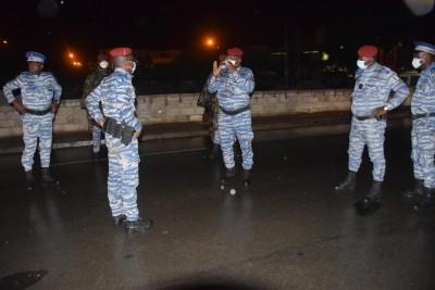 Côte d'Ivoire : Couvre-feu du Coronavirus, le Commandant supérieur de la Gendarmerie contrôle le dispositif mis en place