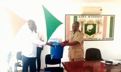 Côte d'Ivoire : Riposte contre le COVID-19 dans le Tchologo, Tené Birahima Ouattara fait don d'important lots de matériel de protection aux populations de Ferké