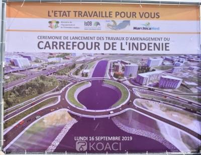 Côte d'Ivoire : Travaux d'aménagement du carrefour de l'Indénié, des perturbations du...