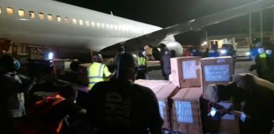 Côte d'Ivoire : Covid-19, l'infox du don de matériel réceptionné lundi soir par Aka A...