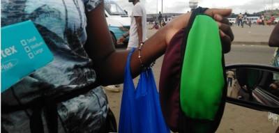 Côte d'Ivoire: Le Coronavirus et le nouveau business des cache-nez et gants à Abidjan