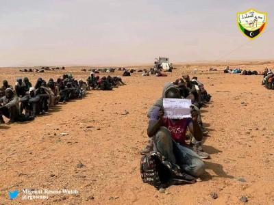 Niger : Plus de 250 émigrants dont un bébé secourus en plein désert près de la Libye