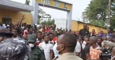 Côte d'Ivoire : Covid-19, suite aux événements de Yopougon, l'Etat sur les lieux pour calmer les manifestants, 18 arrestations