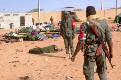 Mali : Le GSIM revendique l'attaque de Bamba qui a coûté la vie à 25 soldats