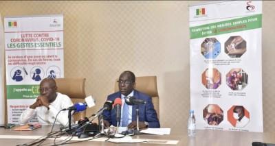 Sénégal : 6ème décès lié au Coronavirus, 412 cas au total dont 242 guéris
