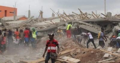 Côte d'Ivoire : Un immeuble en construction s'écroule à la Riviera Abatta, le GSPM à la recherche de trois personnes dans les décombres