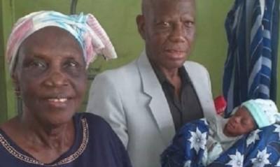 Nigeria : A 68 ans, elle donne naissance à des jumeaux