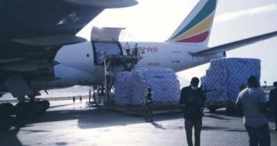 Côte d'Ivoire : Plus de 26 millions de masques chirurgicaux à destination de ceux en première ligne face au Coronavirus, livrés