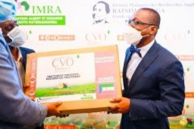 Guinée-Equatoriale : Teodoro Obiang valide la commande de 1,5 tonnes de Tamavy Covid-Organics pour son pays