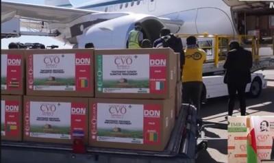 Congo : Brazzaville reçoit un lot de Covid-Organics
