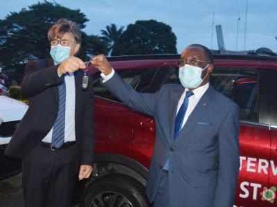 Côte d'Ivoire : Lutte contre le COVID-19, le Groupe CFAO offre 3 voitures à l'INHP