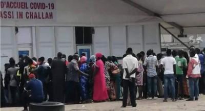 Côte d'Ivoire : Covid-19, des attroupements pour se faire dépister qui inquiètent
