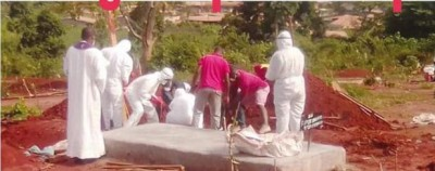 Cameroun : Des membres d'une famille aux arrêts après avoir exhumé le corps de leur père décédé de Covid-19