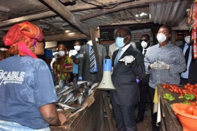 Côte d'Ivoire : 127 nouveaux cas de Coronavirus,  2 nouveaux guéris et pas de nouveau décès