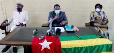 Togo :  Agbéyomé brise le silence prescrit