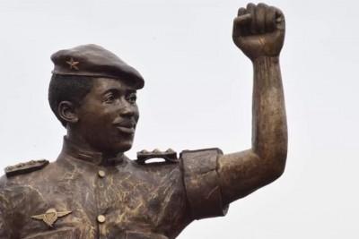 Burkina Faso : La statue de Sankara dévoilée après des modifications