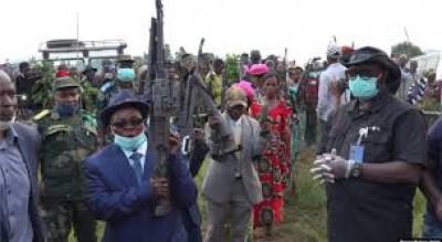 RDC : Maheshe Simba Wankutu et les siens déposent les armes