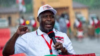 Burundi : Présidentielle, le Général Évariste Ndayishimiye largement en tête selon les résultats partiels, l'opposition rejette