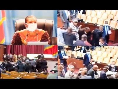 RDC : Bagarre au parlement et destitution de Jean-Marc Kabund de son poste de premier vice-président