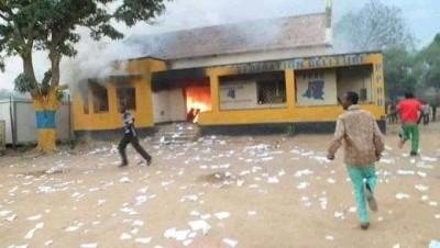 RDC : Destitution de Jean Marc Kabund, des militants en colère saccagent le siège d'u...