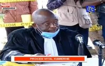 RDC : Procès de Vital Kamerhe, mort soudaine du président du tribunal d'une crise cardiaque