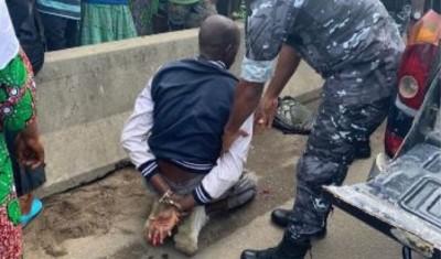 Côte d'Ivoire : Abobo-gare, un pompiste tente de taillader sa sœur