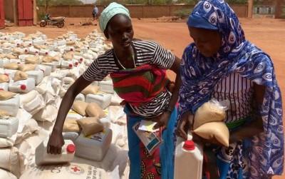 Burkina Faso : 60 000 déplacés reçoivent l'assistance d'ONG