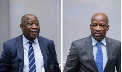 Côte d'Ivoire : CPI, Laurent Gbagbo et Blé Goudé désormais libres de tout déplacement...