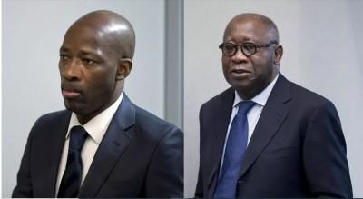 Côte d'Ivoire : Après la modification de leurs conditions de mise en liberté, voici ce que Gbagbo et Blé Goudé ne devront pas faire